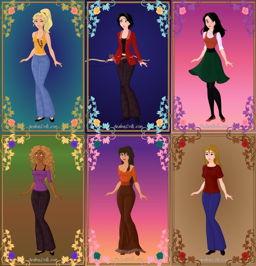 demigod girls by gingerlass0731 on deviantart