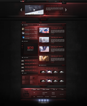 Youtube|Redesign - Fun project.