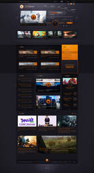 Gamespot | Redesign by Crelcreation