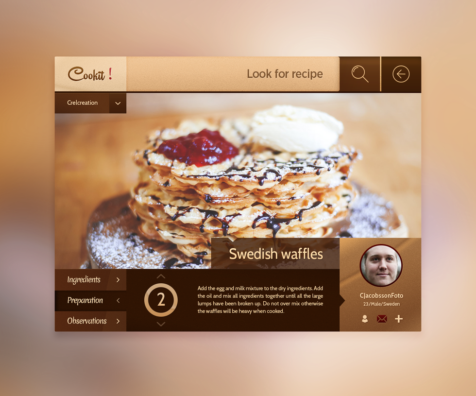 Cookit! Concept by Crelcreation