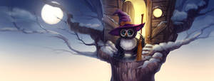 witch owlet by WitchOwlet