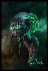 Alien Portrait by TWPictures