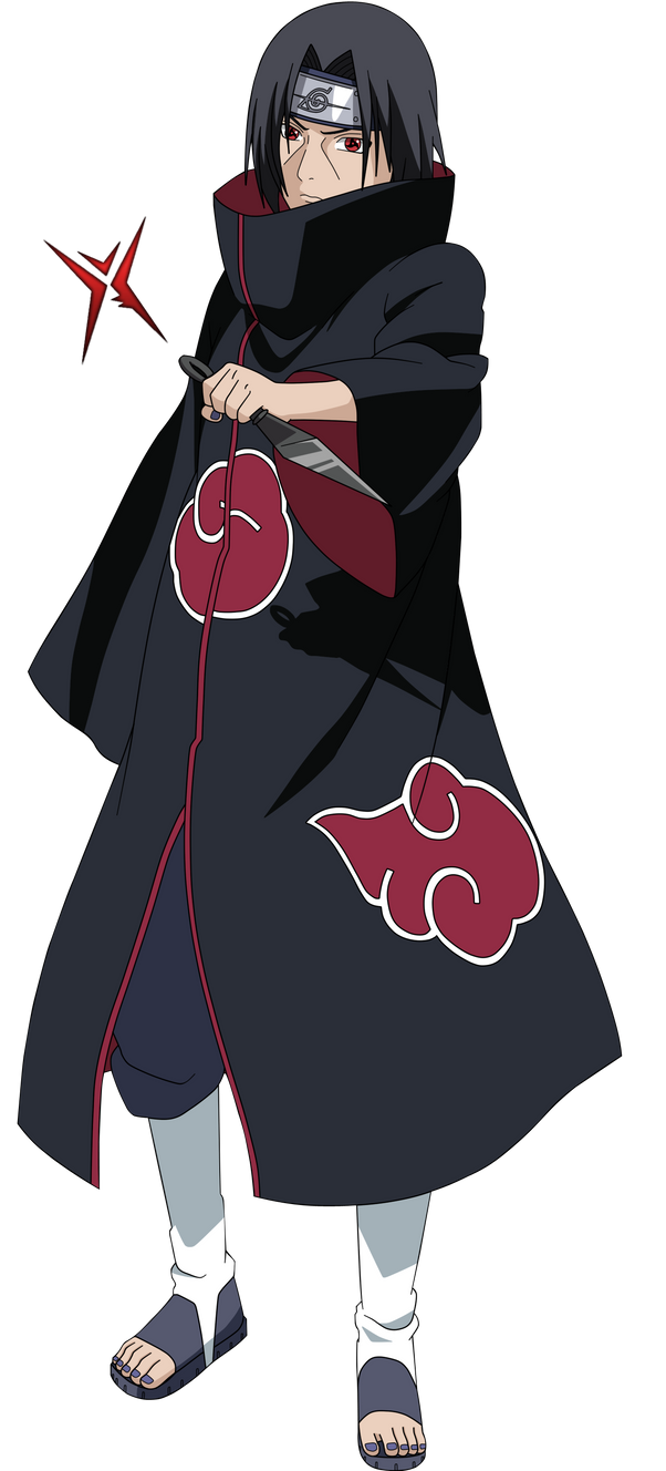 Itachi Uchiha by rOkkX on DeviantArt