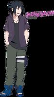 Sasuke Uchiha (road the ninja)