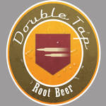 Double Tap Root Beer logo
