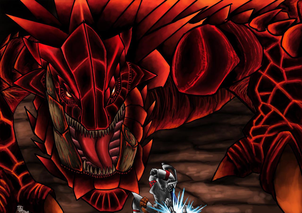 monster hunter akantor by ambone105 on deviantart
