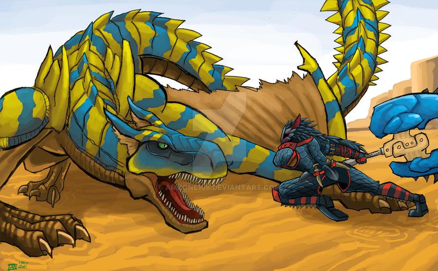 Tigrex Vs Nargacuga