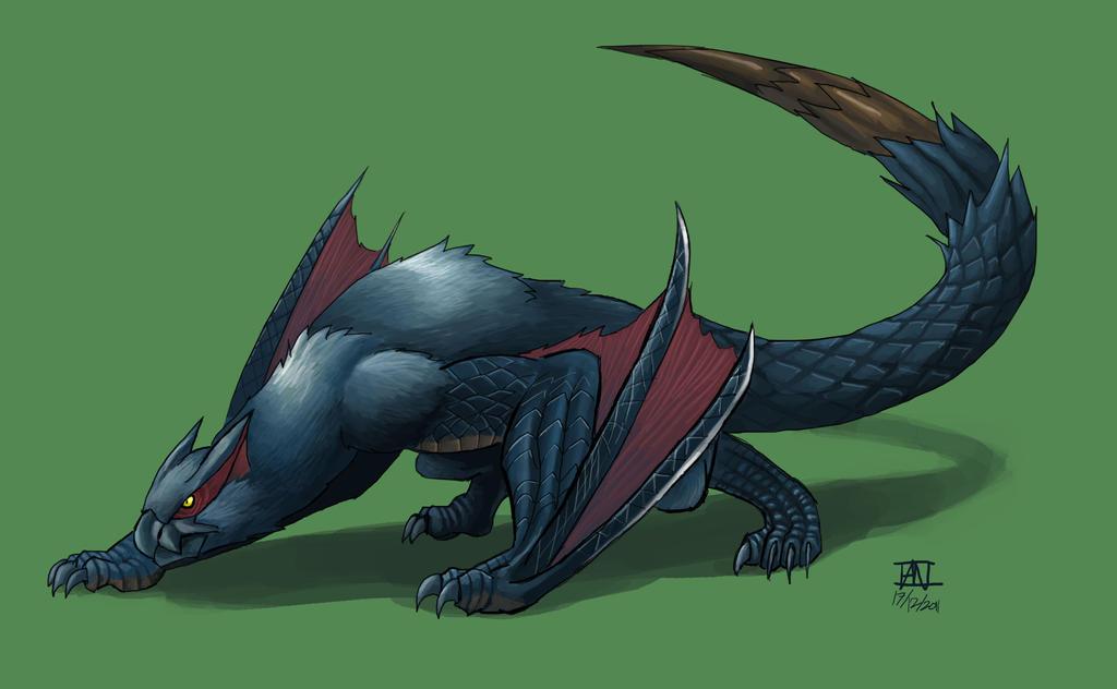 Wyvern Dragon: Races: Dragons (Wyverns)