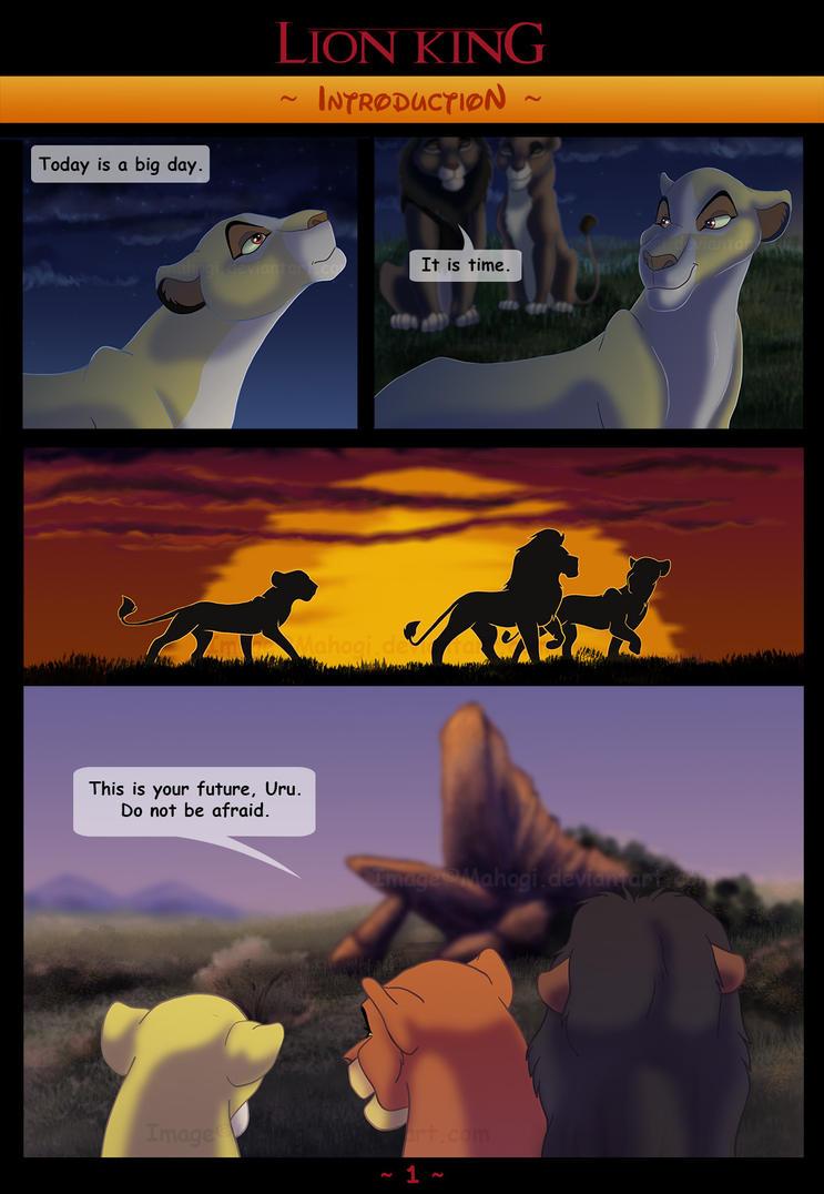 Comic ~Introduction~ - pg. 1 by Mahogi