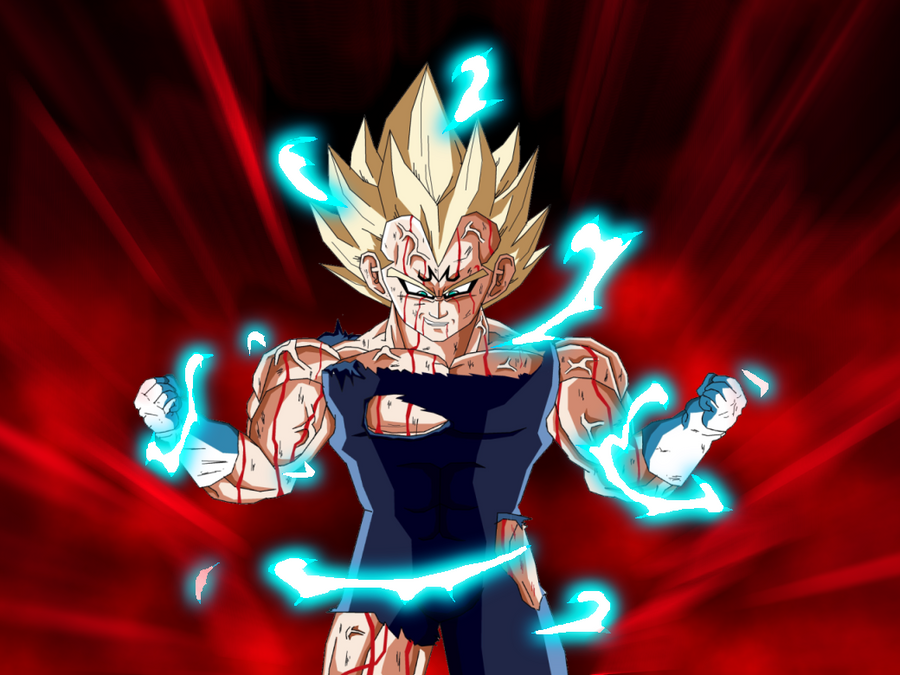 majin vegeta second wallpaper by arguvandal on deviantart
