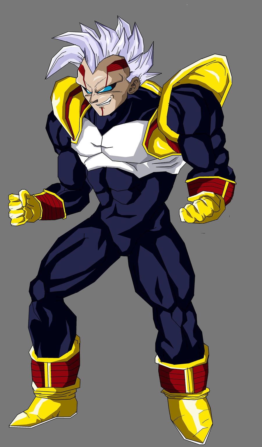 Bebi Vegeta 3rd form by Arguvandal on DeviantArt