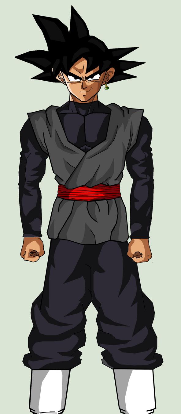 Goku Black Base form by Arguvandal on DeviantArt