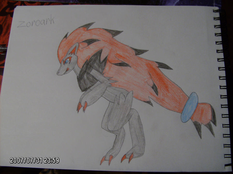 Zoroark by Amuth89