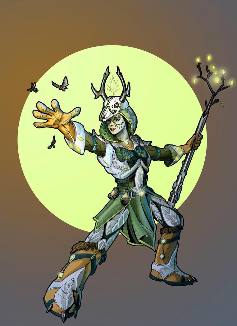 Sci-fi Druid by Angotir