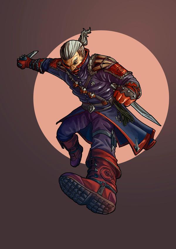 Rogue Geralt by Angotir