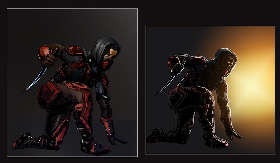Light Dark Brotherhood by Angotir