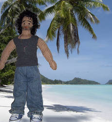 Sayid from Lost 01_knitted