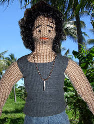 Sayid from Lost 02_knitted