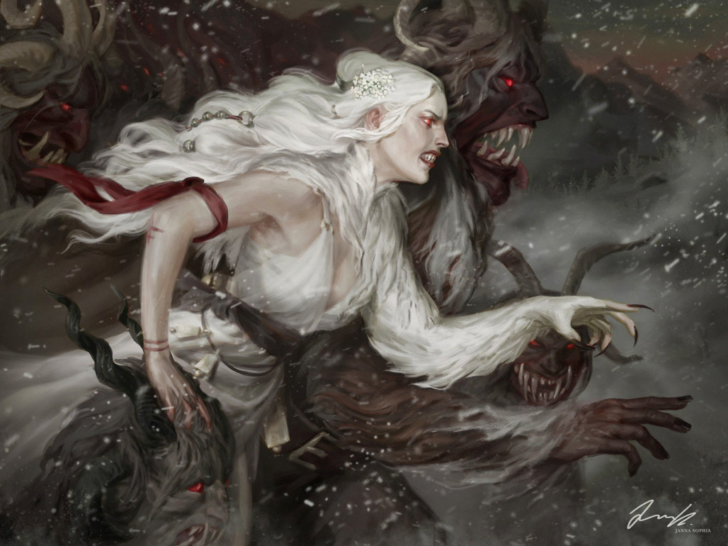 Elder, Snow and a Howling Wilderness
