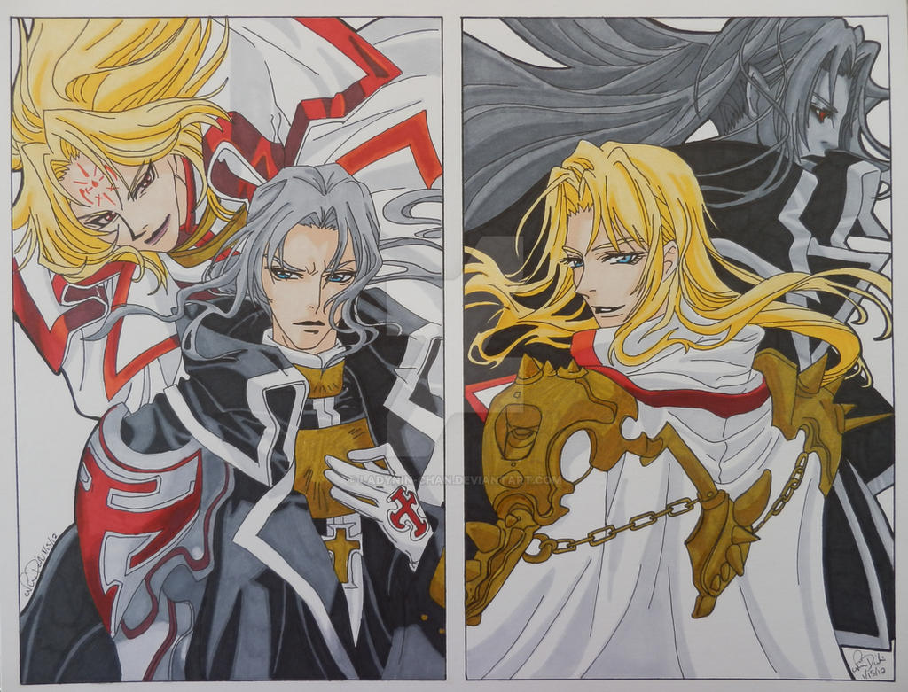 trinity blood cain and abel by ladynin chan on deviantart