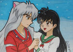 A Priestess and Her Hanyou