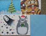 Studio Ghibli Christmas cards set