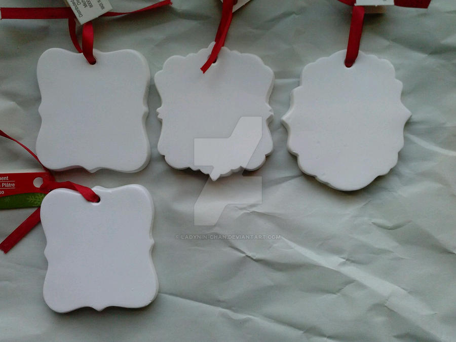 WIP: Blank Christmas Ornaments by LadyNin-Chan