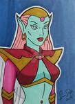 Queen Titania ACEO card