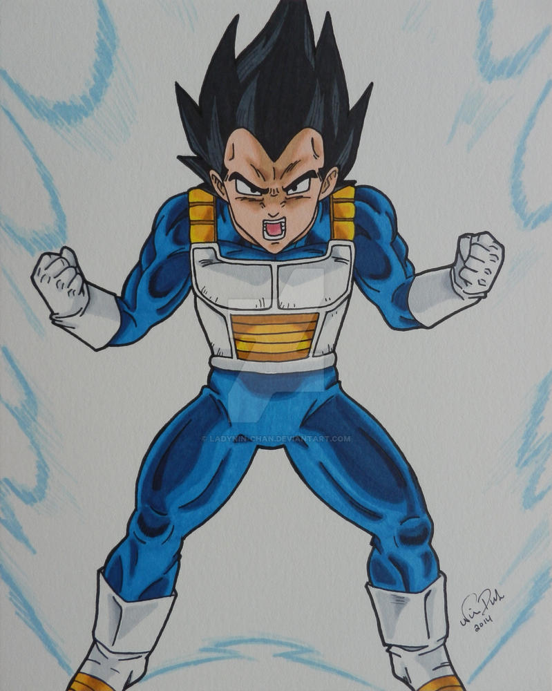 Prince of All Saiyans by LadyNin-Chan