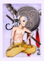 Aang by incaseyouart