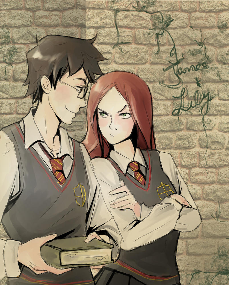 James and Lily by incaseyouart