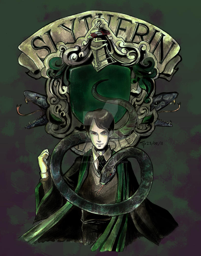 Heir of Slytherin by fluffy-fuzzy-ears