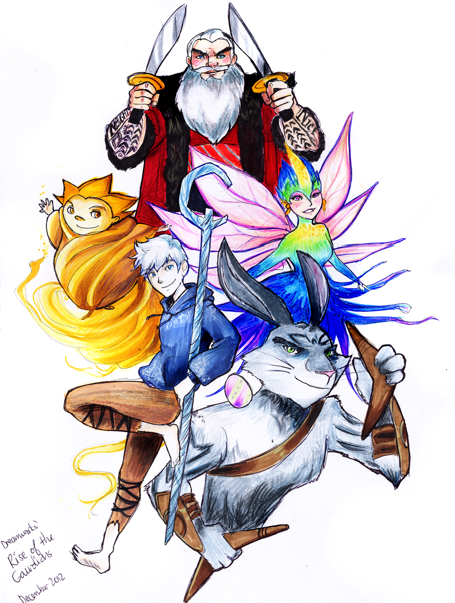 Guardians Assemble! by fluffy-fuzzy-ears