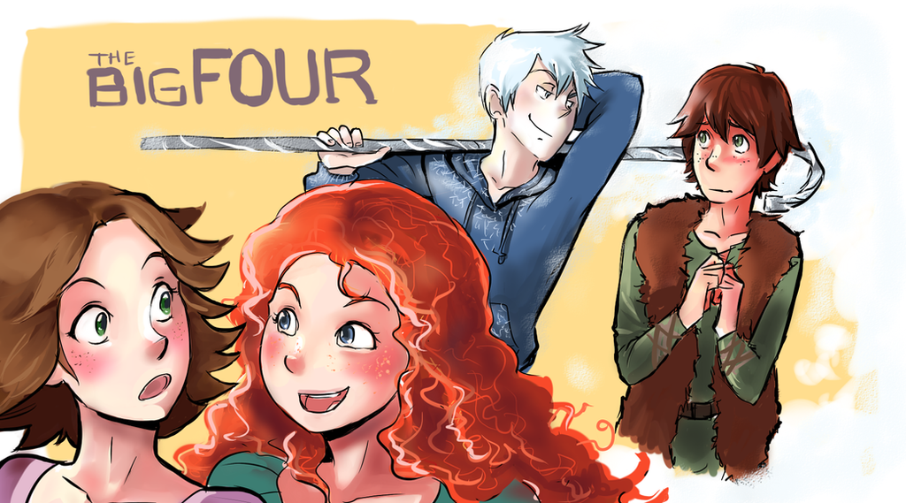 Big Four by fluffy-fuzzy-ears