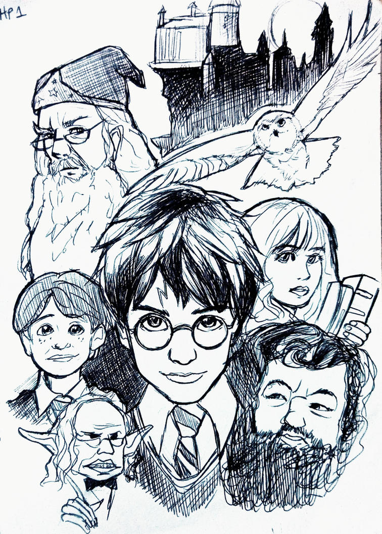Harry potter dvd cover philosopher s stone by incaseyouart on