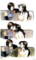 Happy Kisses by incaseyouart