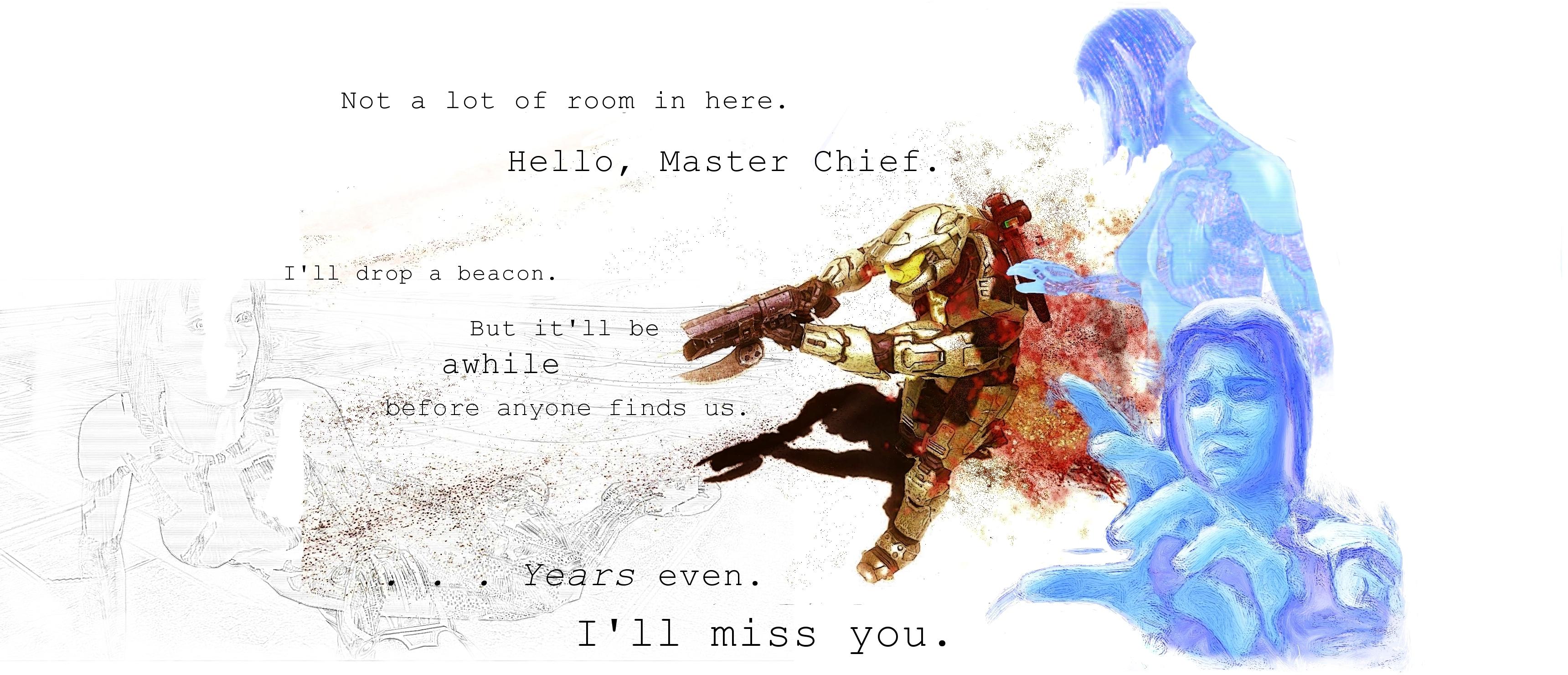 Master Chief And Cortana Wallpaper