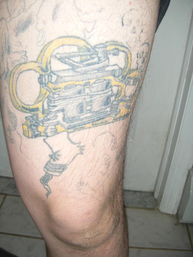 brass knuckle tattoo machine by zen shaman on deviantart. Black Bedroom Furniture Sets. Home Design Ideas