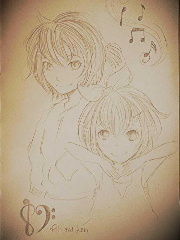 The Kagamine Twins by deepseastar