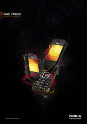 Nokia L'Amour - IV by he1z