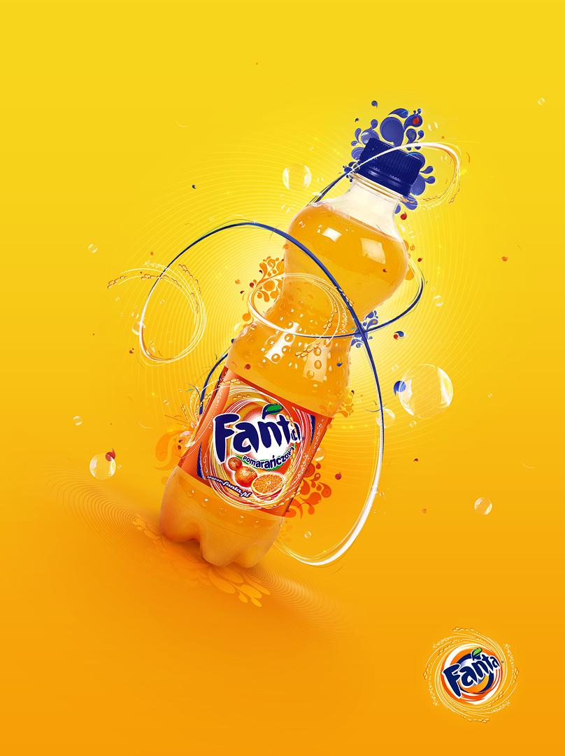 Fanta - Orange by he1z