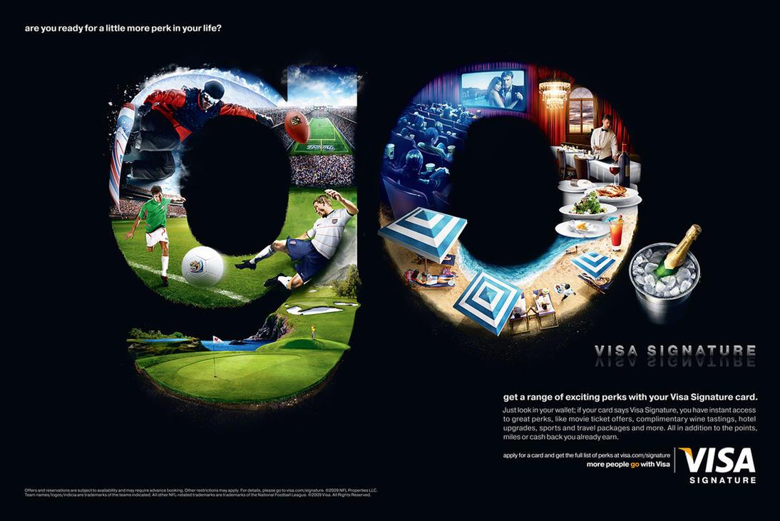 Visa - Go by he1z