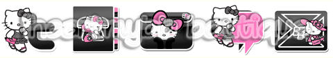 Hello Kitty Pink by iHeartMyBB