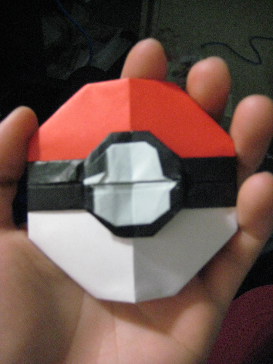 How To Make Origami Pokeball Gallery Craft Decoration Ideas
