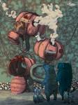 Thanksgiving Disaster (Children's Book Illustratio