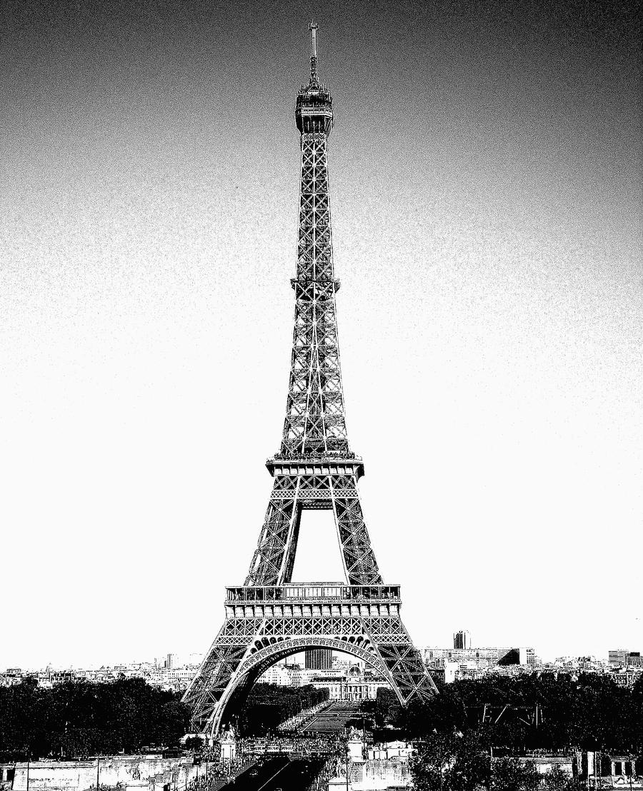 Black and White Paris... by katherinebaker on DeviantArt