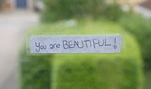 you are B-E-A-U-T-I-F-U-L