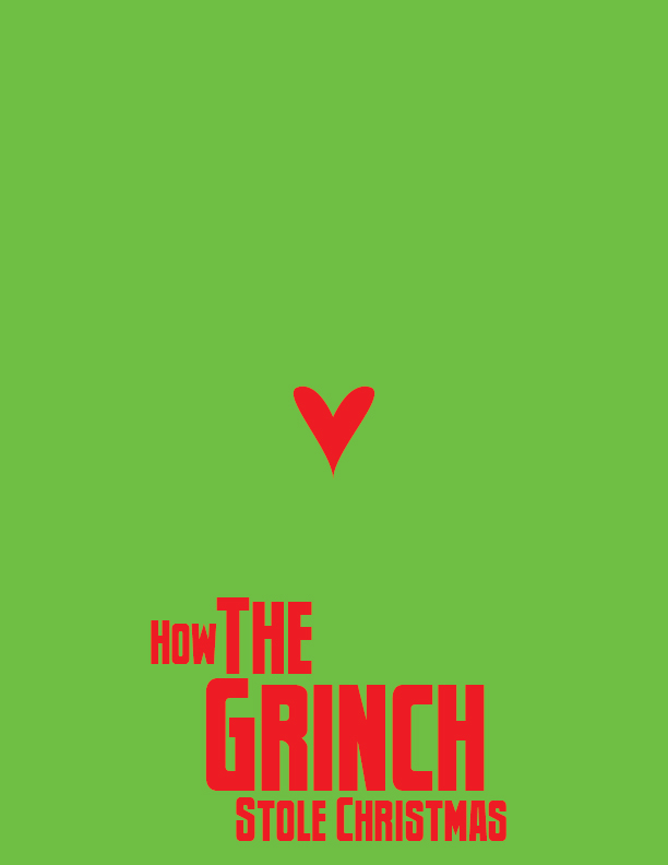 Minimalist The Grinch Poster by Windlord01 on DeviantArt