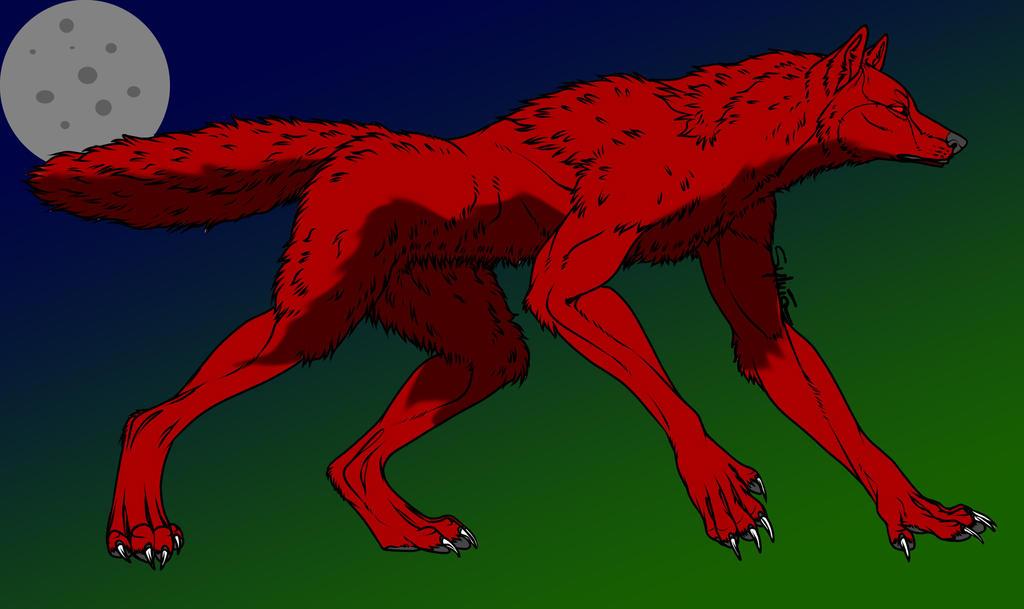 Kagami Taiga the Werewolf by Wulfie-IceFox