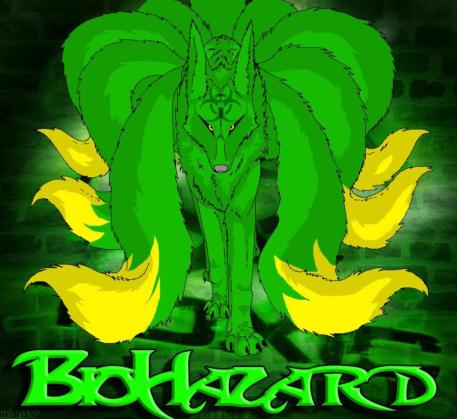 BioHazard Kitsune by Wulfie-IceFox